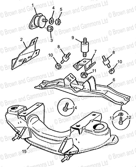 Image for Engine Mountings
