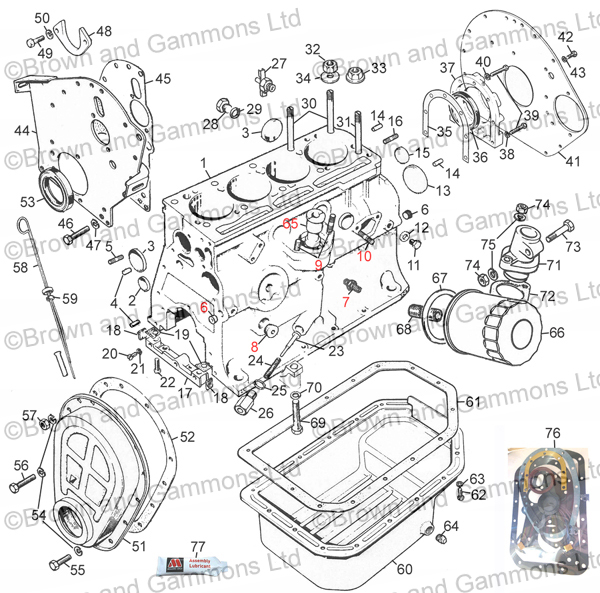Image for Engine 1500 external parts
