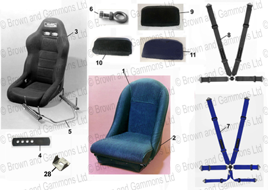 Image for Seats & Seat Belts