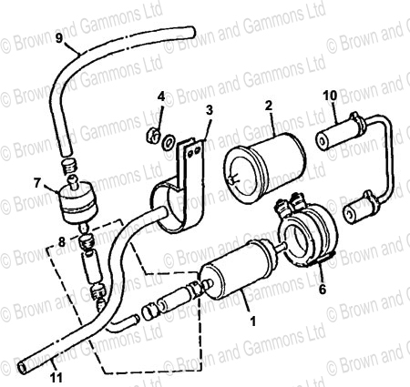 Image for Fuel Pump Filter and Fittings