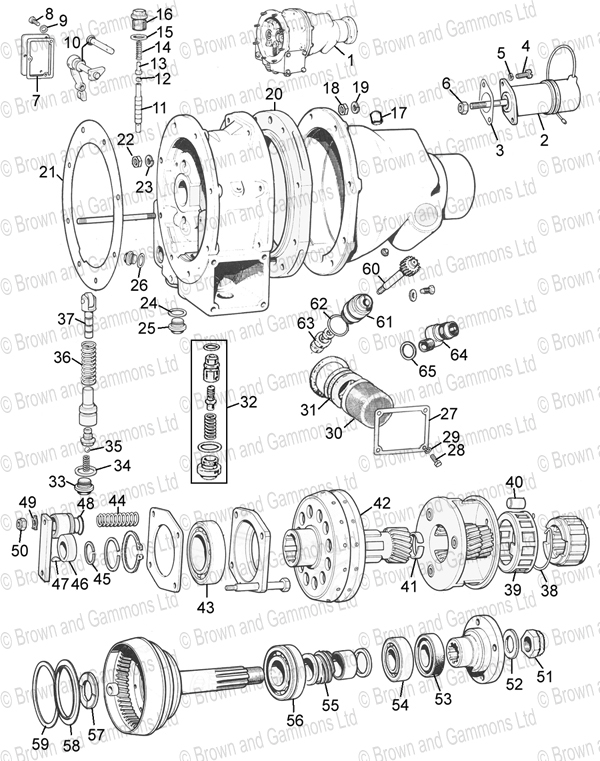 Image for Overdrive 3 syncro gearbox
