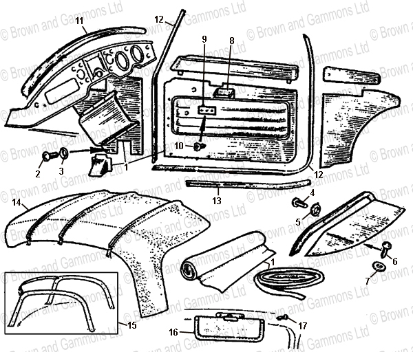 Image for Interior Trim - Coupe