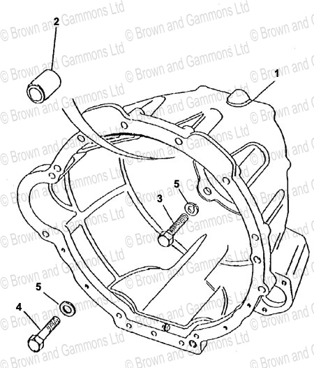 Image for Gearbox Bell Housing (R380)
