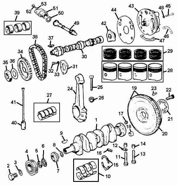 engine 1275 internal parts