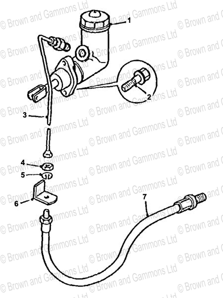 Image for Clutch Master Cylinder and Pipes
