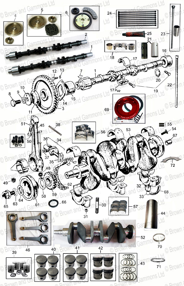 Image for Engine internal parts
