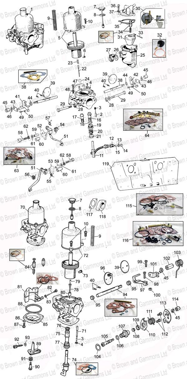 Carburettors   Heatshields - Brown and Gammons 22006ee557df