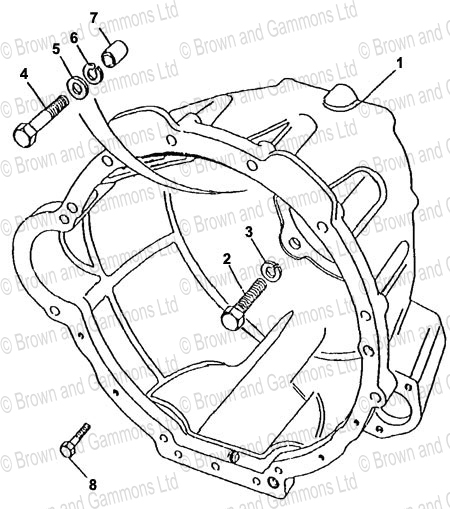 Image for Gearbox Bell Housing (LT771)