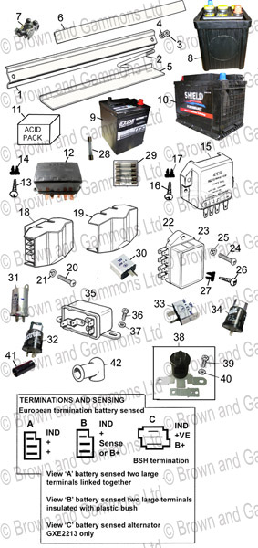 battery  control box  fuse box  u0026 flasher unit