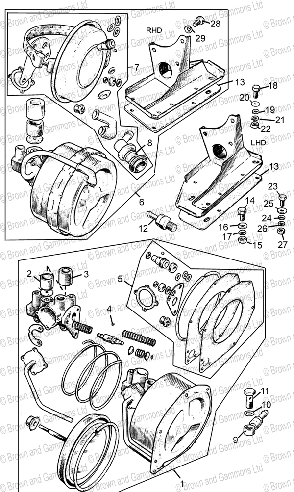 Image for Brake Servo Unit
