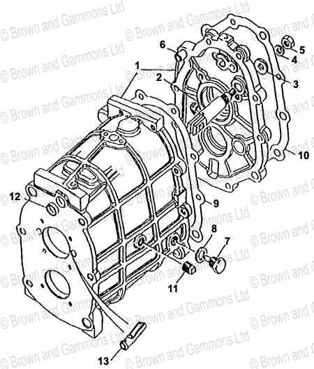Image for Gearbox - Gearcase (LT771)
