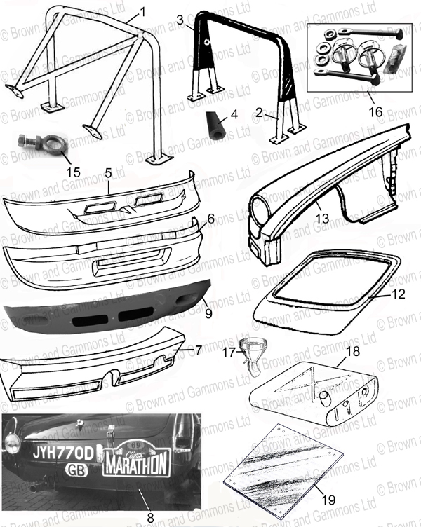 Image for Body Panels & Roll Cages