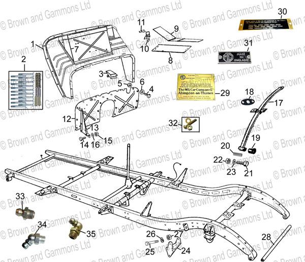 front suspension ponents diagram