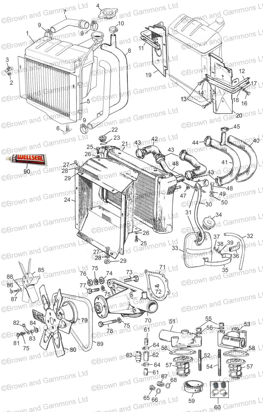 Image for Cooling system 1275