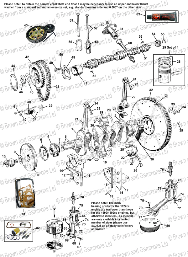 Engine Internal Parts  U0026 Oil Pumps