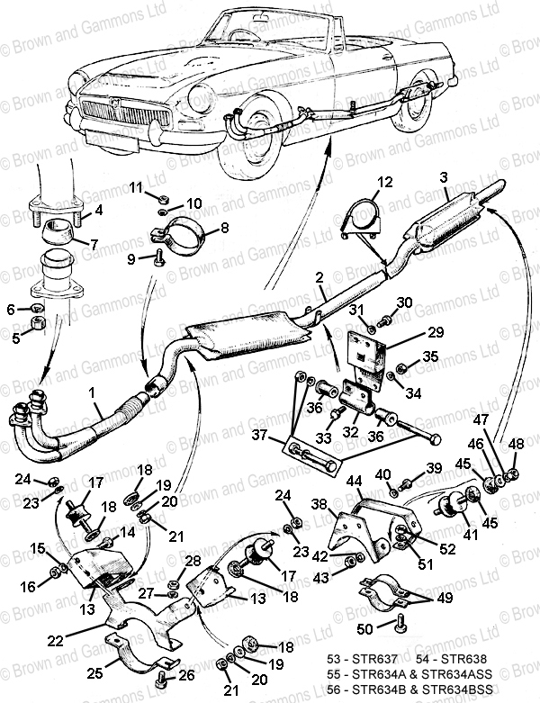 Image for Exhaust System & Fixings
