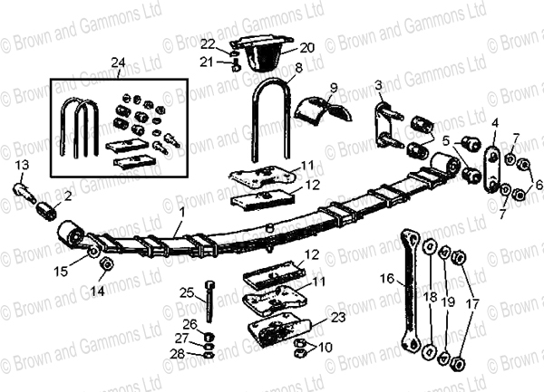 Image for Rear suspension
