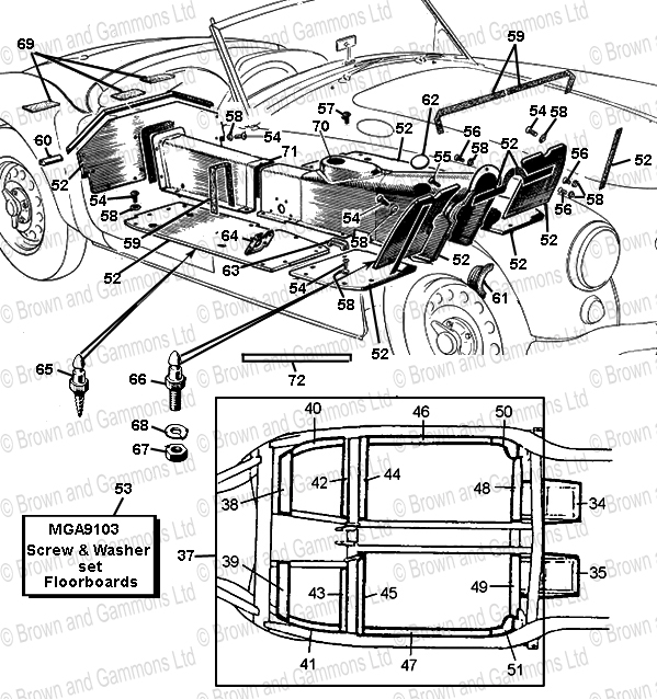 Image for Chassis Repair Sections & Floorboards