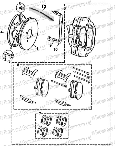 Image for Front Brakes