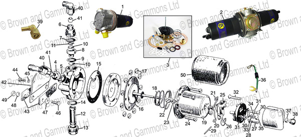 Image for Fuel pump & parts
