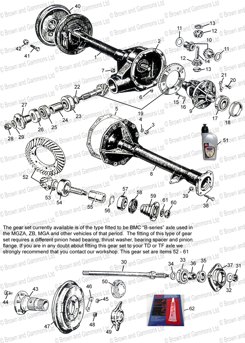 Image for Rear axle