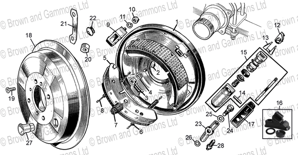 Image for Rear brakes
