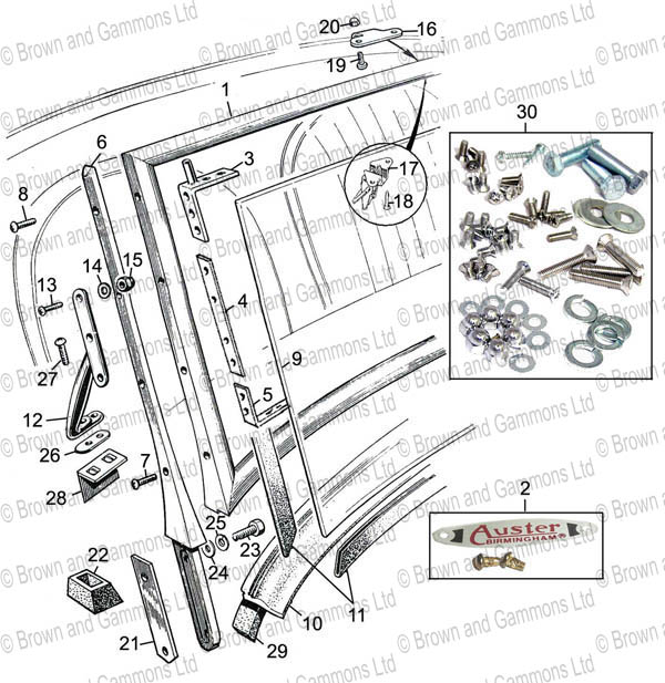 Image for Roadster windscreen