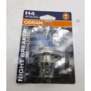 Image for BULB H4 60/55W OSRAM NIGHT BREAKER SILVER-PAIR