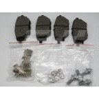 Image for Rear brake pad set MG GS