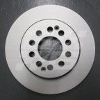 Image for Rear brake disc New MG ZS