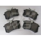 Image for Rear brake pads - Set - New MG ZS