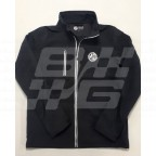 Image for Black softshell Jacket Medium MG Branded