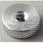 Image for Alloy knurled gauge nut large 3BA