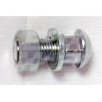 Image for BUMPER BOLT CHROME WITH NUT & WASHER