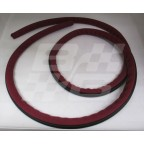 Image for DOOR SEAL RED MGA ROADSTER-63 INCH