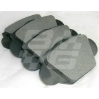 Image for BRAKE PADS MGA-NON ASBESTOS