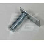 Image for MOULDING STUD PLATE MGB MID