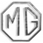 Image for MG 3 PIECE BOOT BADGE MID MGB A
