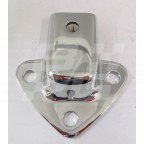 Image for CHROME HOOD SOCKET MGB MGC