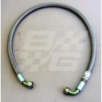 Image for OIL COOLER PIPE BRAIDED S/STEEL MGB