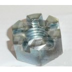 Image for NUT SLOTTED 1/2 INCH BSF HEX ZINC