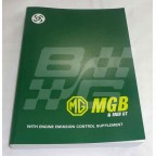 Image for MGB W/SHOP MANUAL1962-78+EMIS