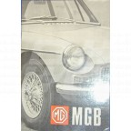 Image for MGB 1968 USA HANDBOOK