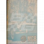Image for HAND BOOK MGB CHROME BUMPER