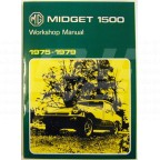 Image for WORKSHOP MANUAL MIDGET 1500 RB