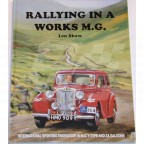 Image for RALLYING IN A WORKS MG