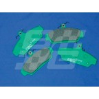 Image for MGF/TF Front pads EBC Green (240mm disc)