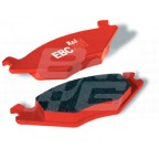 Image for MGF F/PADS F/ROAD/SPRINT RED