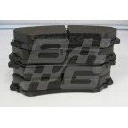 Image for Trophy front pads O.E no pins/clips