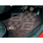 Image for MGF BLACK FABRIC MATS MG LOGO RHD
